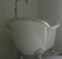 One of our bathtubs